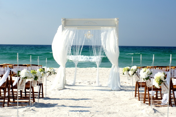 Beach Wedding Package in Pensacola, Navarre and Perdido Key